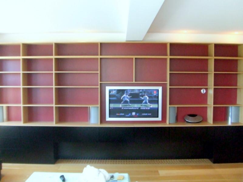 Boekenkast met deuren imiho custom made furniture