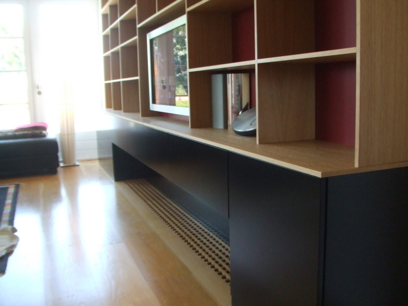 Boekenkast met deuren imiho custom made furniture
