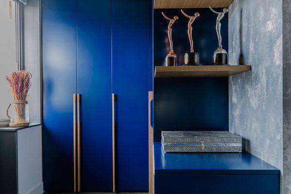 California Blue garderobekast