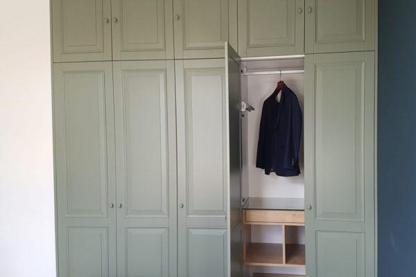 Garderobekast.Klassiek.groen (2)