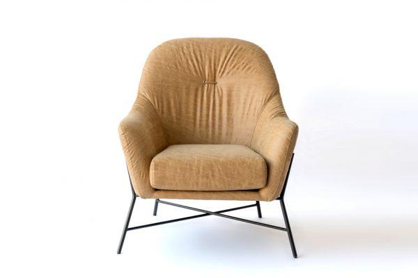 fauteuil camel